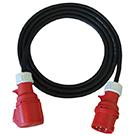 Three Phase Plug Socket Leads