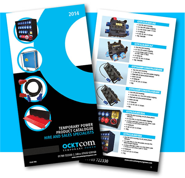 Ocktcom Temporary Power Catalogue